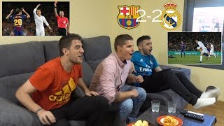REACCIONANDO al BARCELONA vs REAL MADRID 2-2