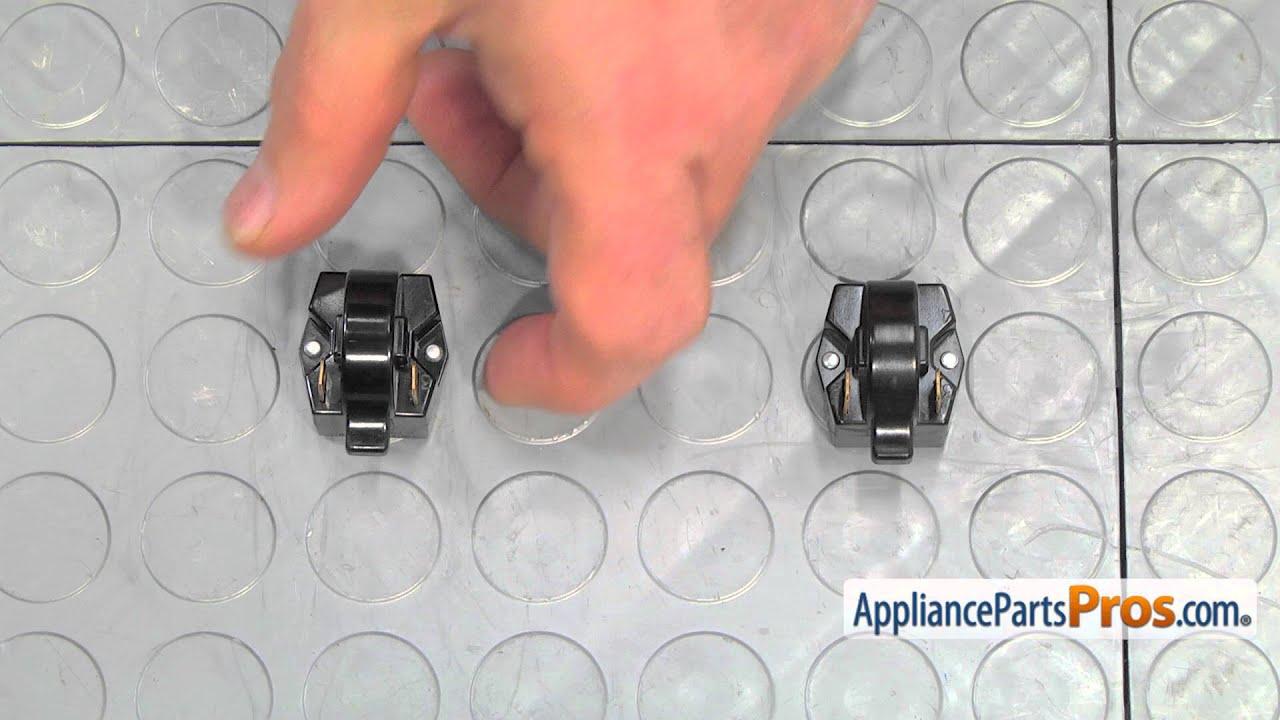 Refrigerator Start Relay (part #DA35-00099G) - How To Replace