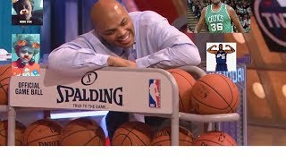 SHAQ!! VS CHARLES BARKLEY IN 3 POINT SHOOT OUT!