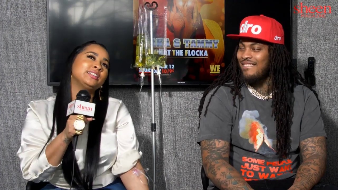 Waka & Tammy Fight During Interview