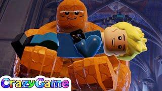 #LEGO MARVEL Super Heroes Complete Walkthrough #9 Doctor in the House (4K)