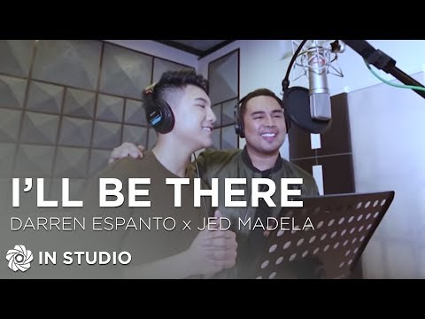 Darren Espanto and Jed Madela - I'll Be There (Recording ...