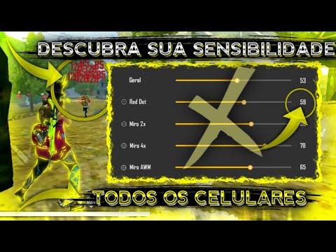 SAIU!! COMO ACHAR A SENSIBILIDADE PERFEITA PARA SUBIR CAPA!! TODOS OS CELULARES!! FREE FIRE