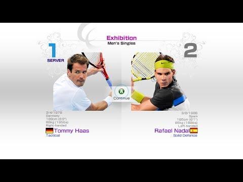 virtua-tennis-4-sega-tommy-haas-vs-rafael-nadal-rafael-nadal-roger-federer-andy-murray-novak