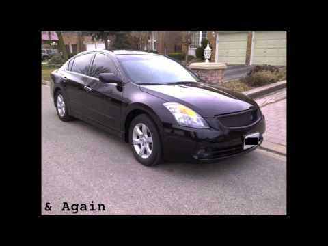 2008 Black Nissan Altima Exterior Modifications Youtube
