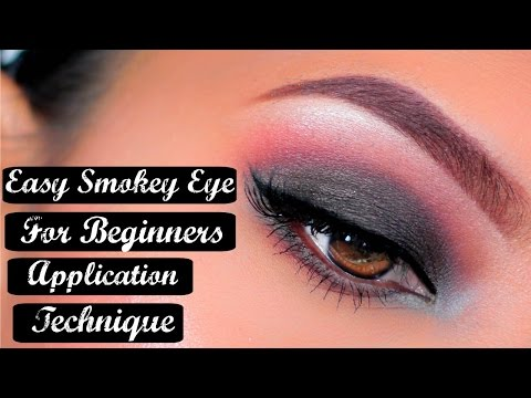 Easy Step by Step Smokey Eye Makeup Tutorial
