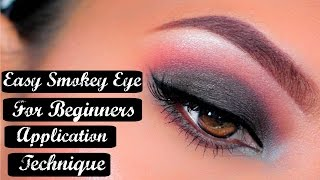 how to   easy step by step smokey eye   makeup tutorial for beginners   crueltyfree   airahmorenatv