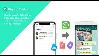How to Transfer WhatsApp Messages Photos Videos from iPhone to iPhone /Android