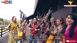 Lagu Gawai//Raban Penyanyi Cahaya Manis Music-Meri Petara Makai(Official Music Video) HD indonesia