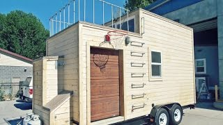 MANCAVE TINY HOUSE IS FOR THE GUYS