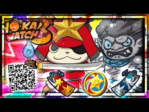 Qr Code Piece Legendaire Pour Yokai Watch Blaster