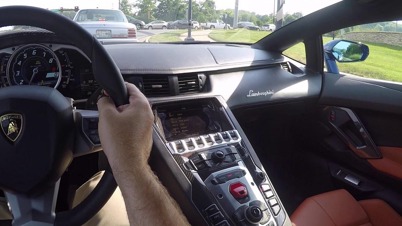 2017 Lamborghini Aventador Miura Homage Pov Test Drive Youtube
