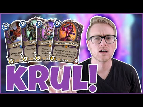 Hearthstone | This Game is so Krul Sometimes | Wild Reno Krul Warlock | Rise of Shadows