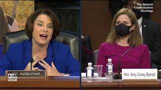 WATCH: Sen. Amy Klobuchar's full opening statement in Barrett Supreme Court confirmation hearing