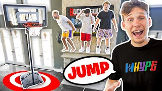 JUMP OR LOSE! Simon Says Mini Hoop Basketball