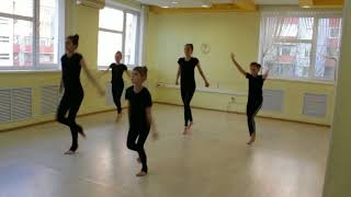 Видео-урок (II-семестр: май 2018г.) - филиал Центральный, Спортивная хореография, гр.8-17