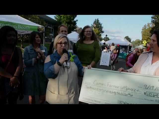 Camas Farmer's Market Receives $10,000+ Award