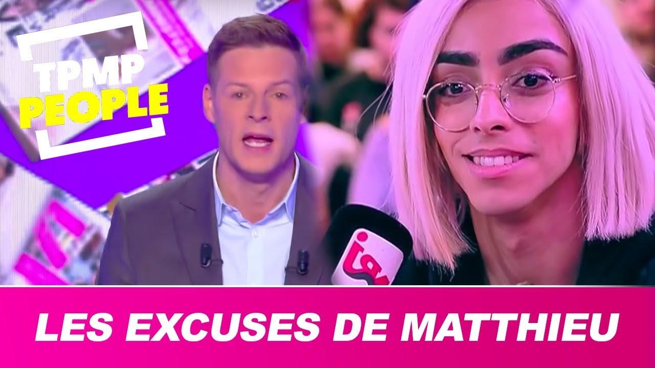 Matthieu Delormeau présente ses excuses à Bilal Hassani