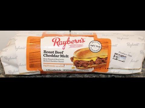 Raybern's Roast Beef Cheddar Melt Sandwich Review