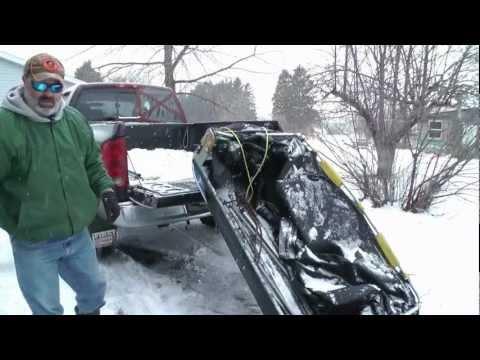 Ice Shack Modification For Easier Transport!