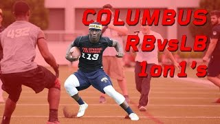 Columbus RB vs LB 1 on 1