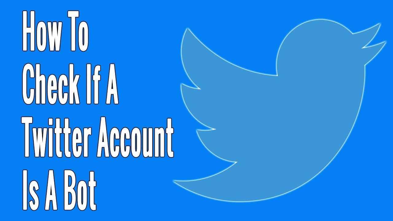 How to Check If a Twitter Account Is a Bot