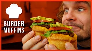 Geile Burger Muffins