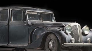 Conserving the Queen's Daimler