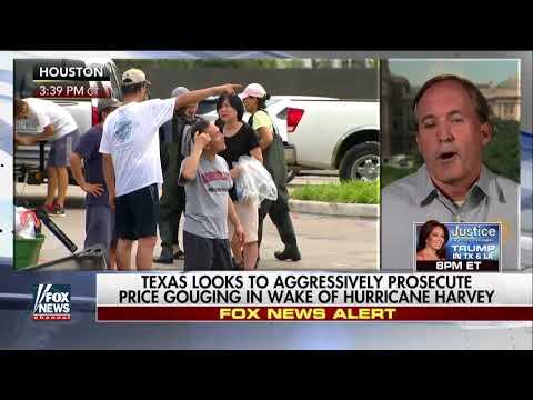 Texans report price gauging of water, fuel, shelter