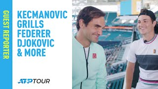 Federer Has Never Heard This Question Before... Miami 2019 thumbnail
