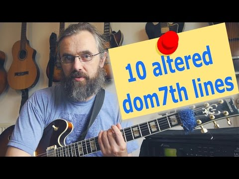 10 Altered dominant lines