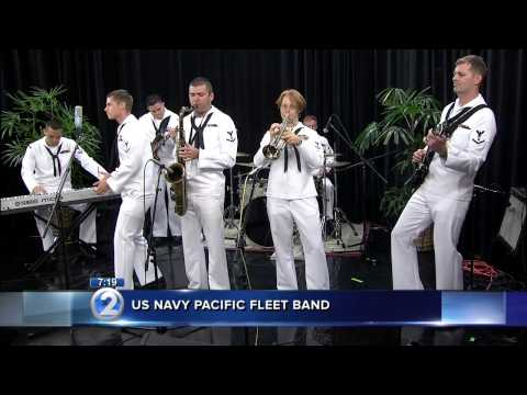 US NAVY PACIFIC FLEET BAND KHON 9-19-14