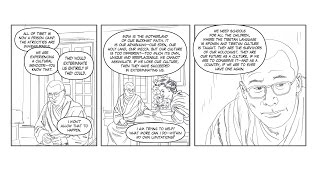 Man Of Peace Graphic Novel Crowdfunding Ask by Robert AF Thurman