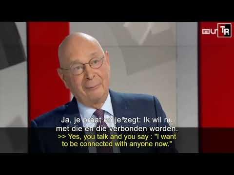 Klaus Schwab microchip Nederlands vertaald; en de wereldleiders luisteren naar deze onzin!