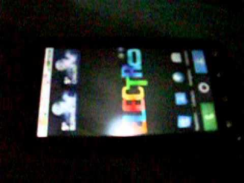 Motorola Defy flashé sous Froyo 2.2.1 + rooté et overclocké à 1GHz