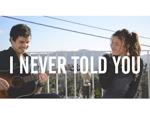 I NEVER TOLD YOU [cover] - Lou Ruiz & Piper Curda