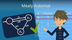 Mealy Automat - einfache Erklärung & anschauliches Beispiel!