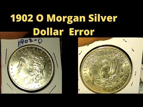 Error Found On 1902 O Morgan Silver Dollar
