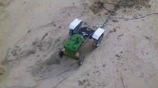 Toy Tractor New Holland Vs John Deere powerful