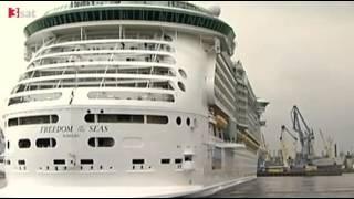 wissen aktuell: Moderne Seefahrer - Das größte Kreuzfahrtschiff der Welt