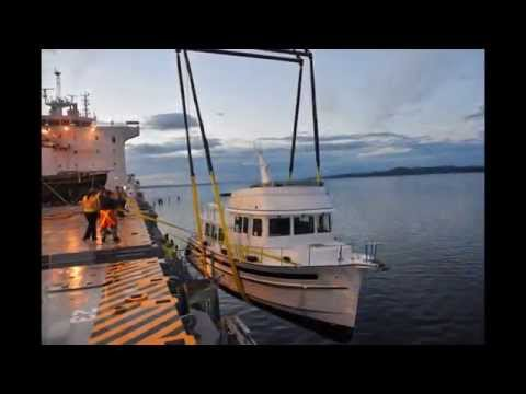 Raven Offshore Yacht Shipping August 24, 2013 Vancouver, BC Load