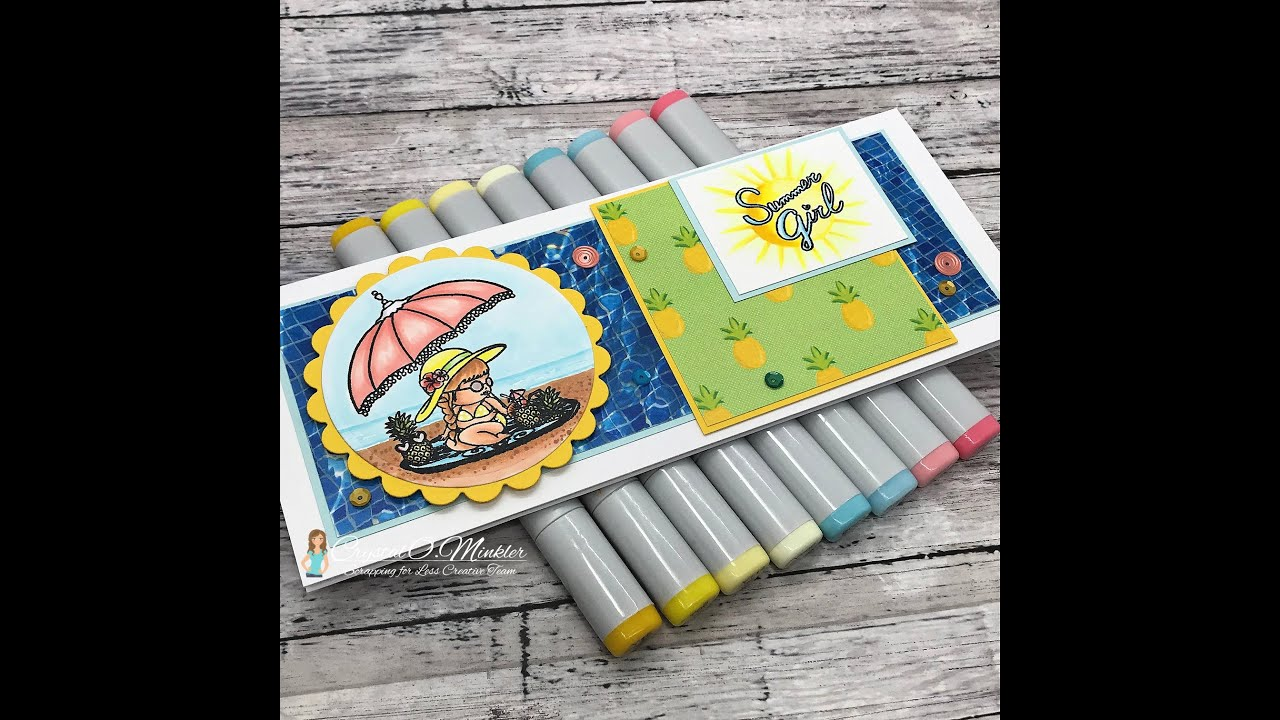 New Release at SFL | Summer Floaties Slimline Card