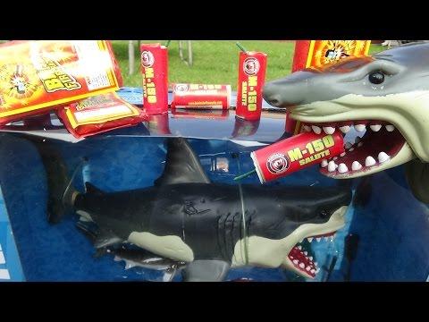 Sharks Unboxing Shark Toy Animal Planet Mega Great White & Orca Killer Whale