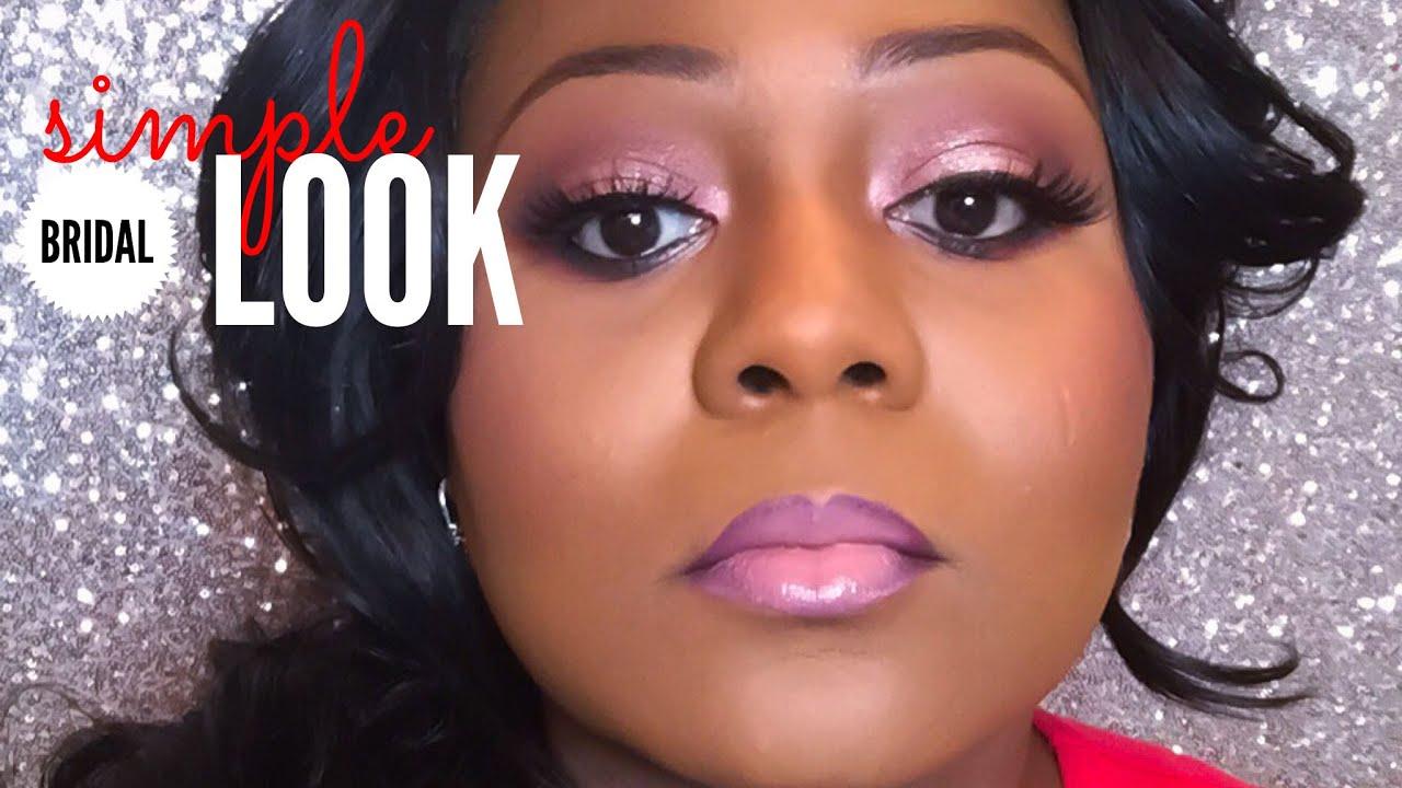 Simple Bridal Makeup Tutorial : Simple bridal makeup tutorial - YouTube
