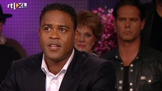 Patrick Kluivert: André was mijn blanke vader - RTL LATE NIGHT
