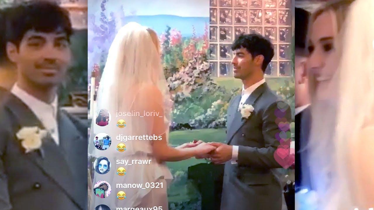 Sophie Turner & Joe Jonas' Wedding Reception Was A Dance Party (& Diplo Didn't Stream It)