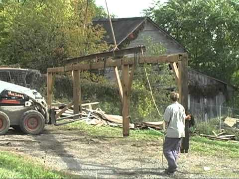 Timber Frame Barn - Saving the Barn