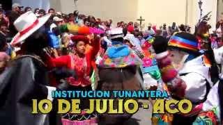 INST. TUNANTERA 10 DE JULIO - ACO -- IGLESIA SAN FRANCISCO DE ASIS - 2015