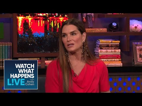 Brooke Shields' Sweet Exchange With Paris Jackson  WWHL