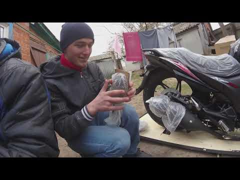 Lifan KP 200   Покупка нового мотоцикла   Сборка   Первый выезд.